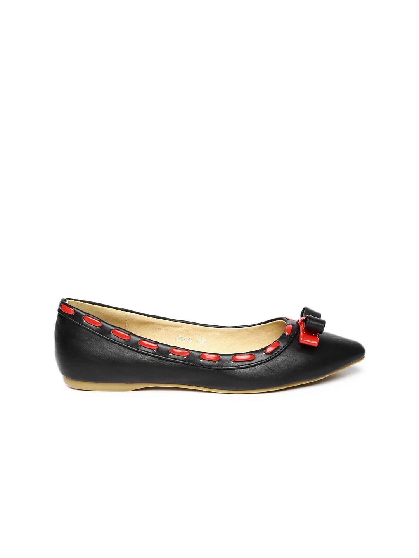 myntra dressberry black flat shoes 751433 buy