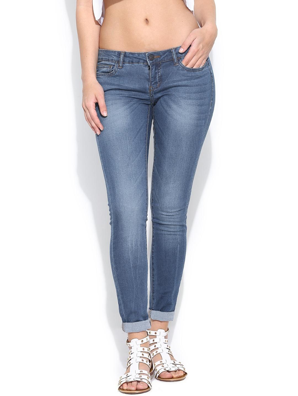 myntra vero moda women navy super skinny fit jeans 726836 buy myntra vero moda jeans at best. Black Bedroom Furniture Sets. Home Design Ideas