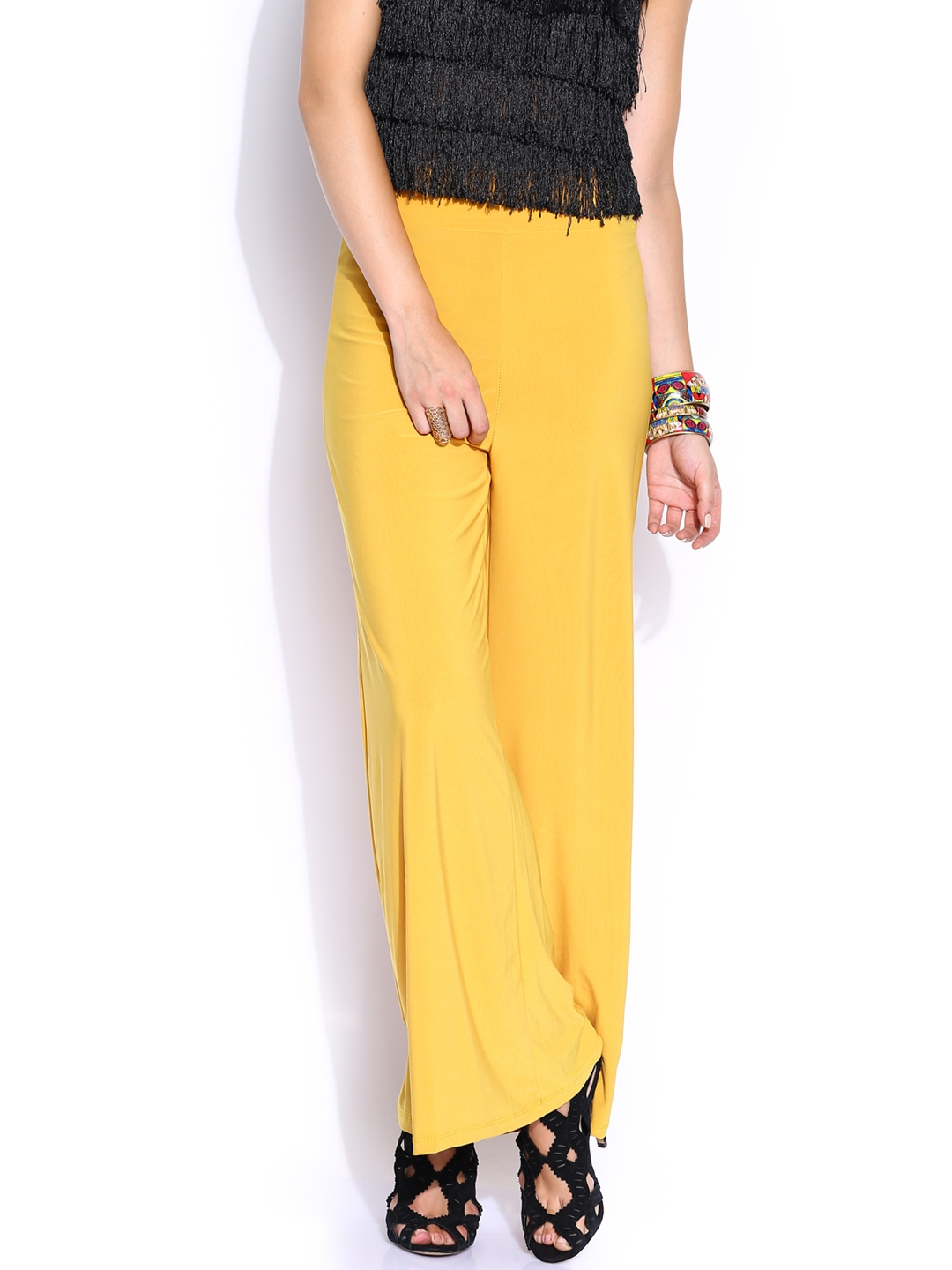 Awesome  Piana Women39s Mustard Yellow Cotton 39Dafne Caracas39 Straight