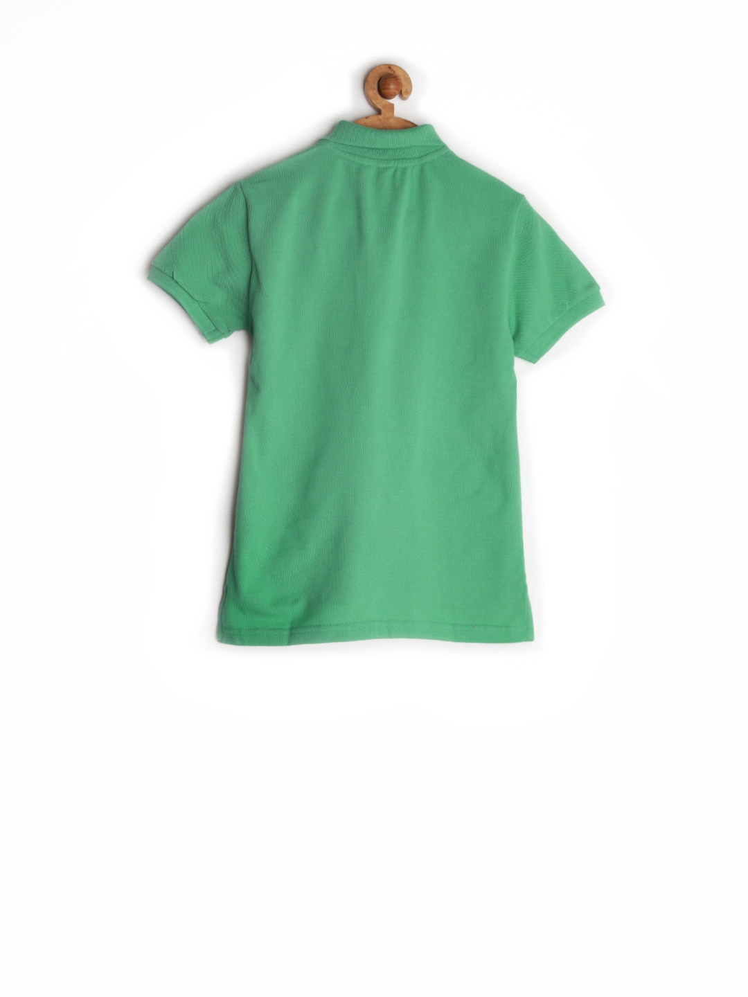 Myntra United Colors Of Benetton Boys Green Polo T Shirt