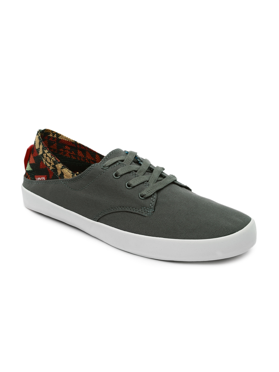 myntra levi s grey casual shoes 756924 buy