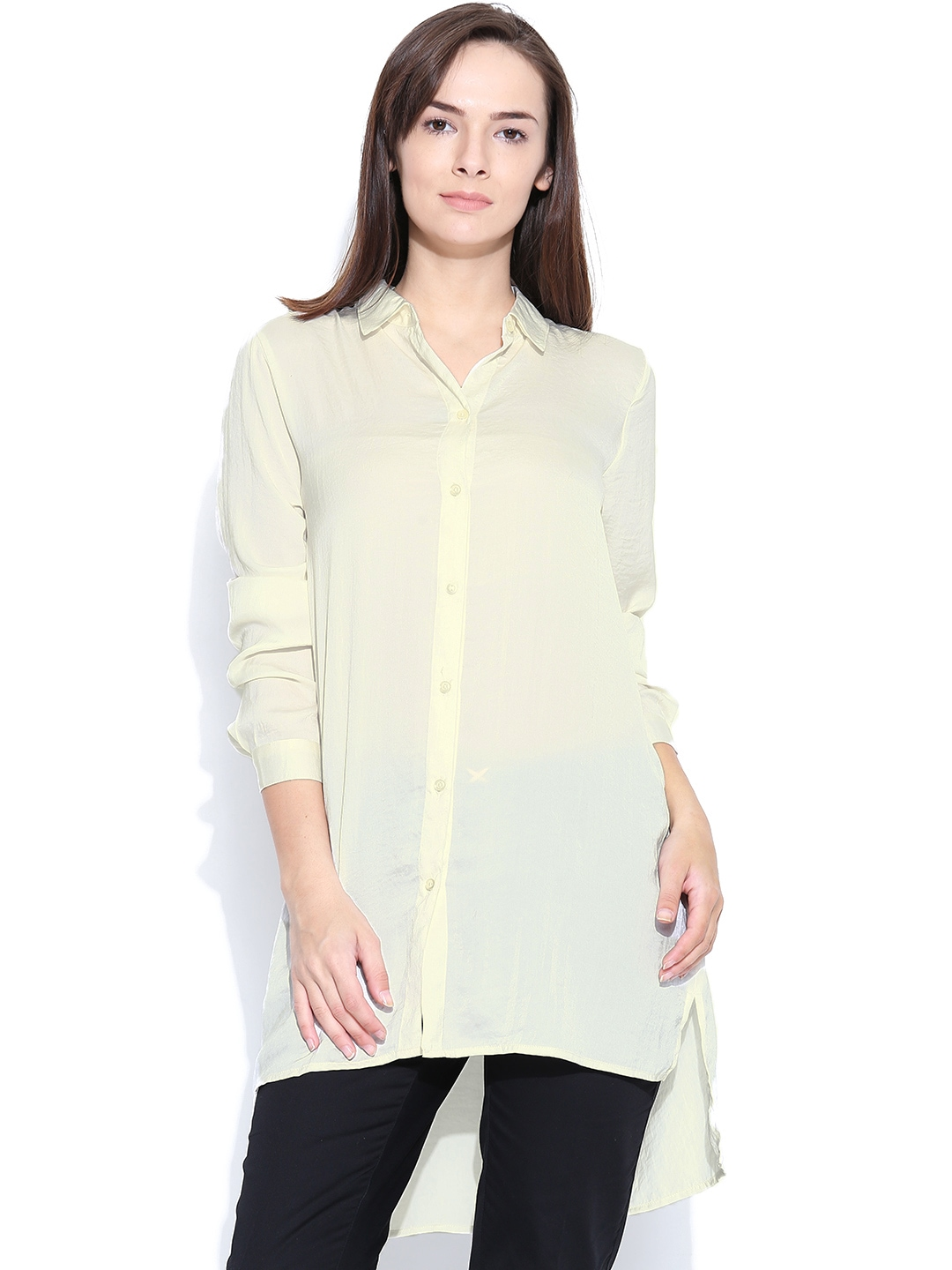 Myntra vero moda off white shirt dress 758709 buy myntra for Buy white dress shirt