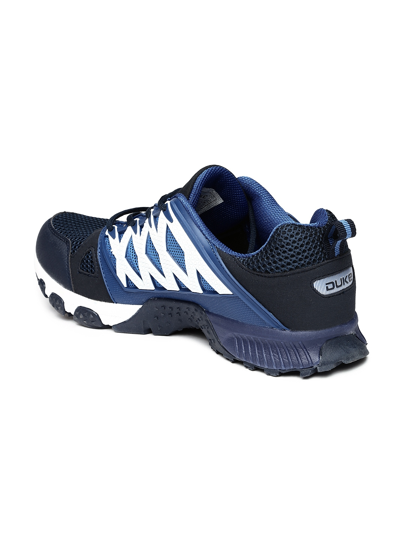 Duke Navy Blue Running Shoes