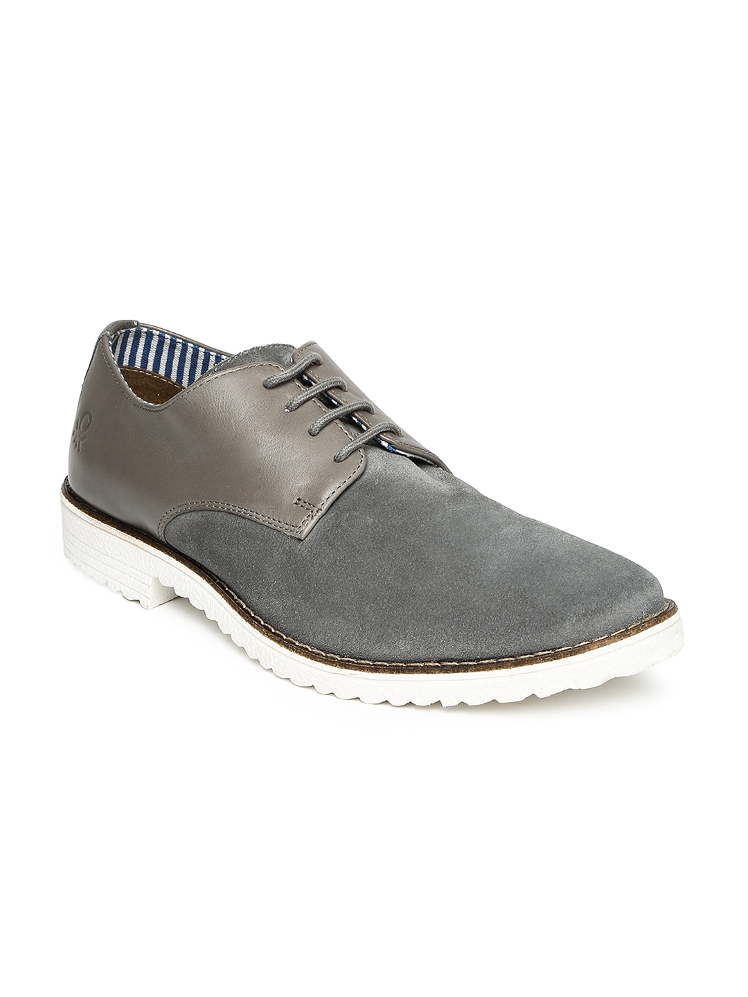 myntra united colors of benetton grey casual shoes