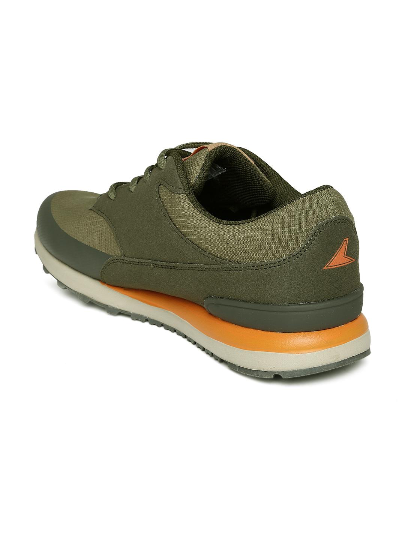 myntra power by bata green jog ind314 sports shoes