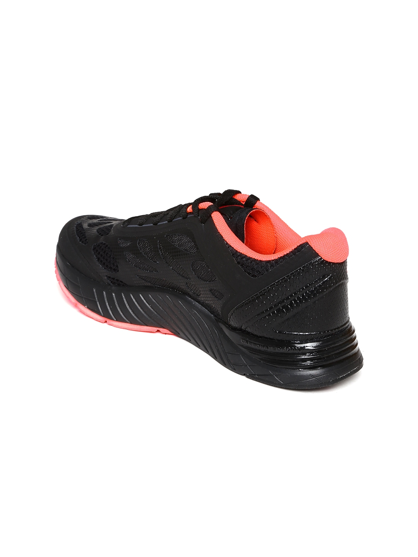 myntra reebok black cardio ultra shoes