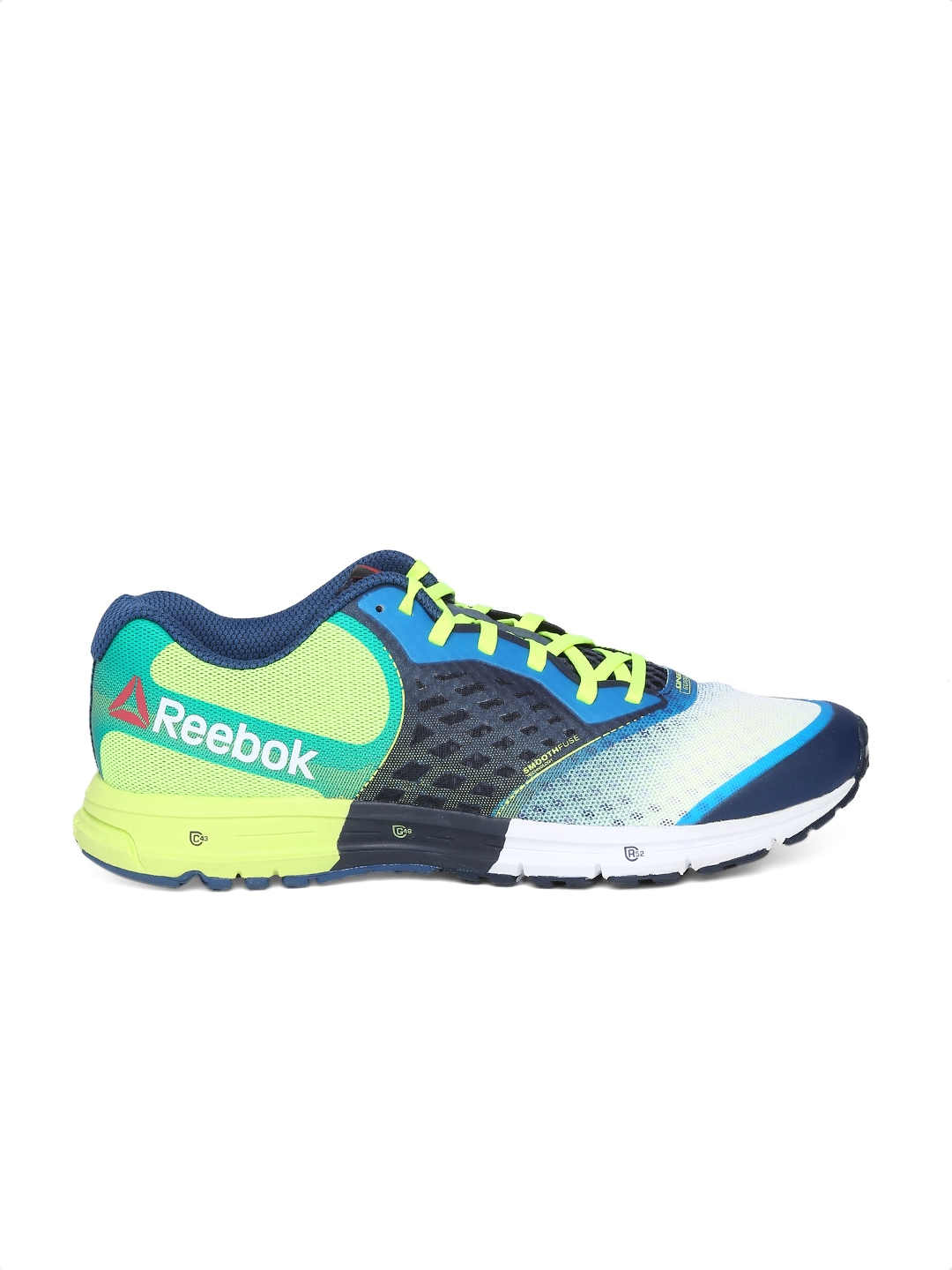 myntra reebok multicoloured one guide 2 0 running