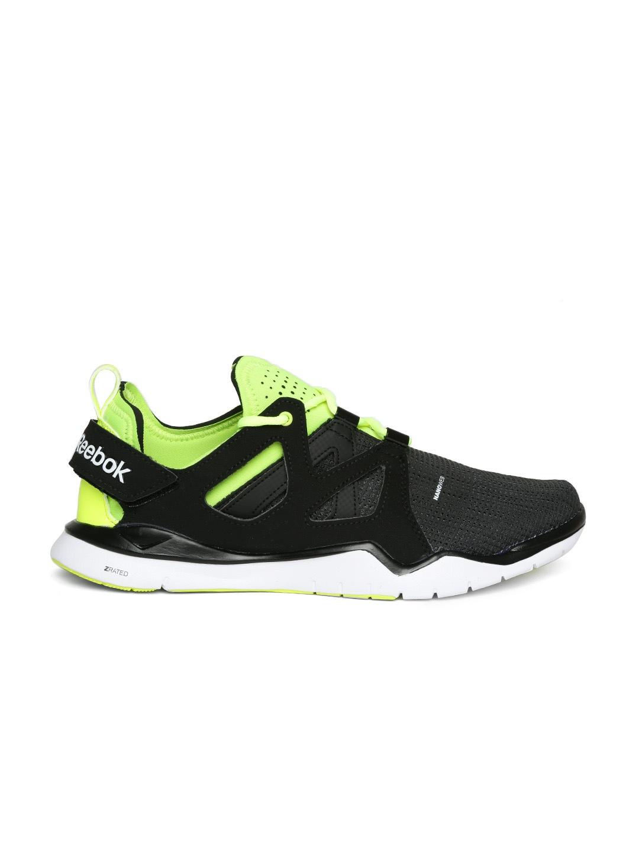myntra reebok black zcut shoes 762266 buy