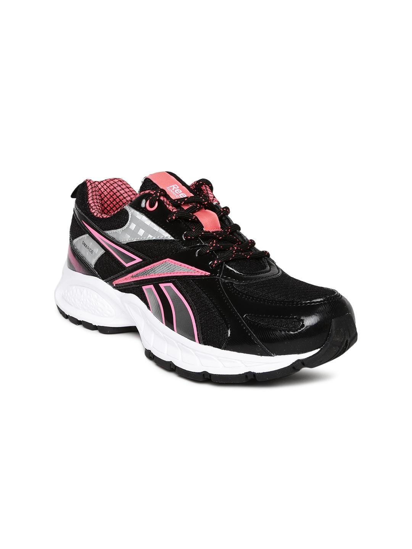 myntra reebok black acciomax 4 0 lp running shoes