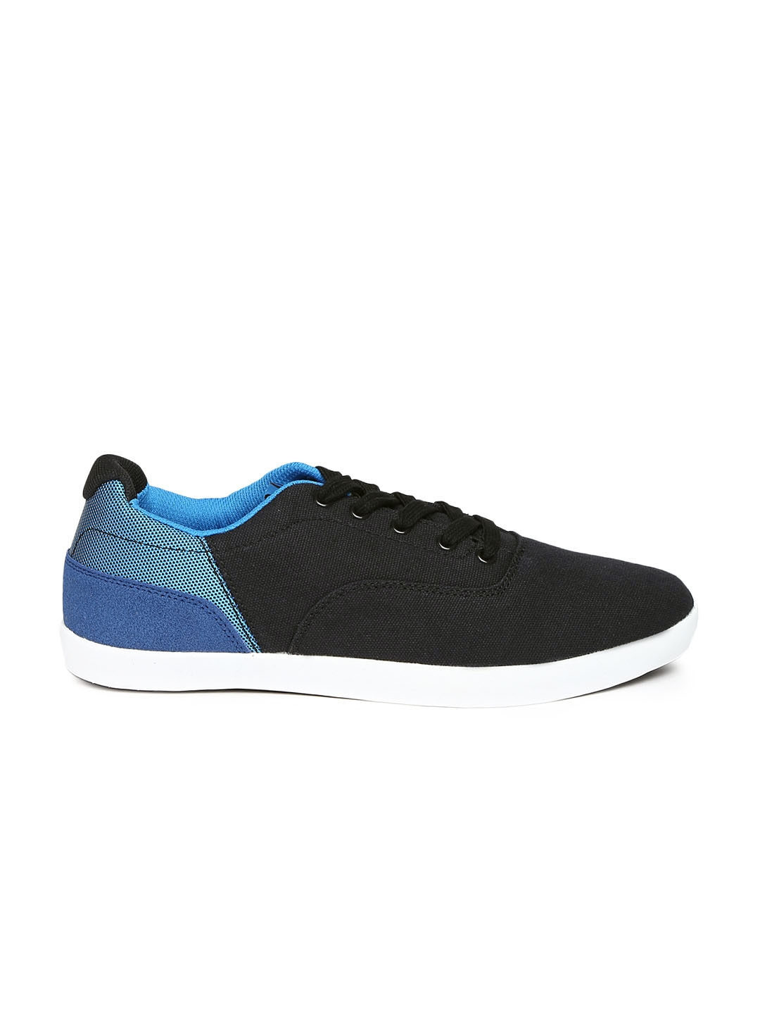myntra roadster black casual shoes 762306 buy myntra