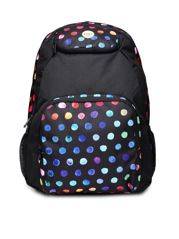 Myntra Roxy Women Navy Printed Drawstring Backpack 765809 ...