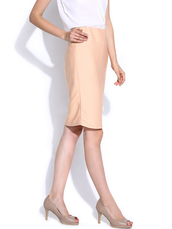 myntra vero moda coloured pencil skirt 767344 buy