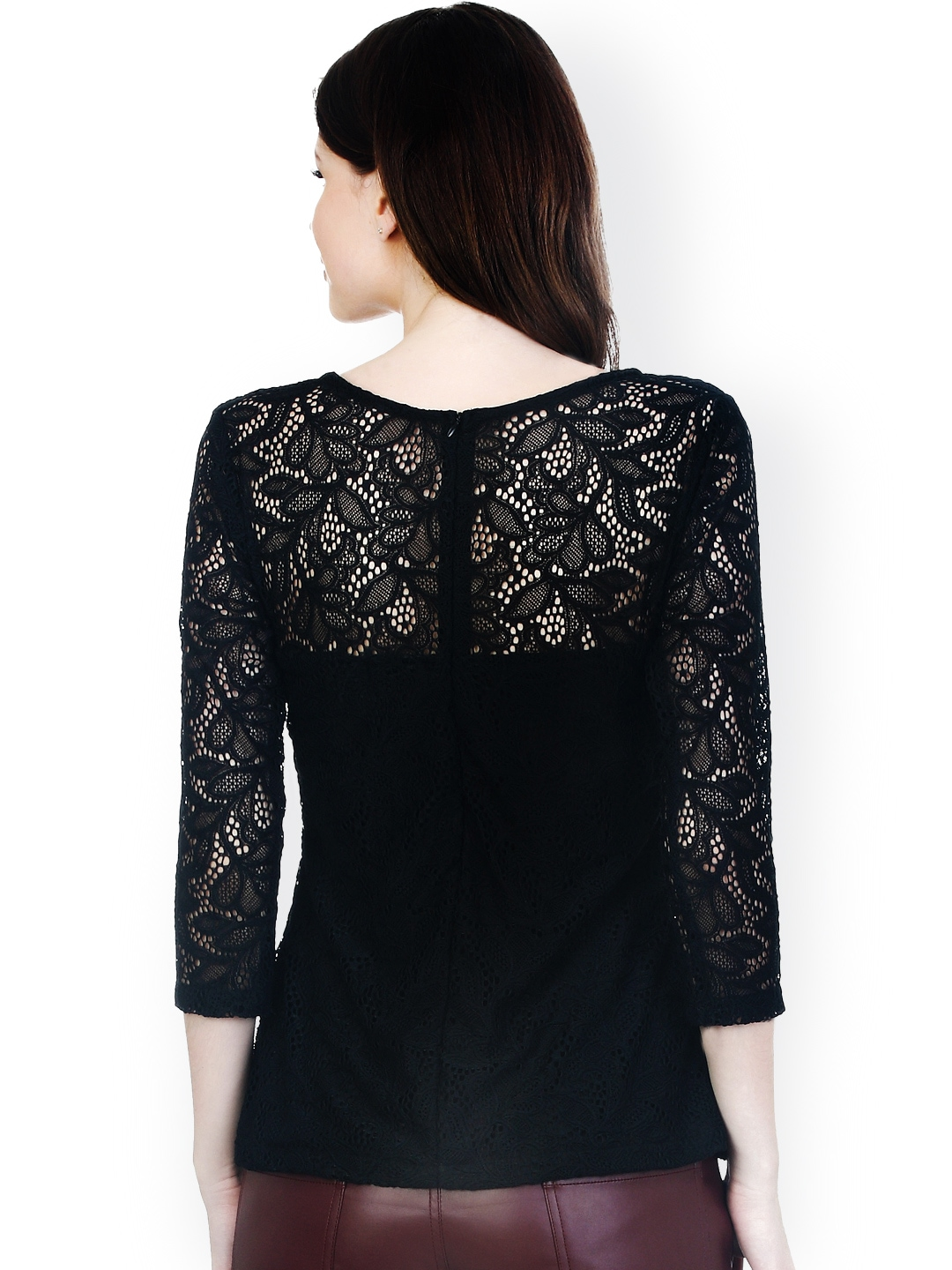 FREE Shipping & FREE Returns on Black Lace Top at Bloomingdale's. Shop now! Pick Up in Store Available.