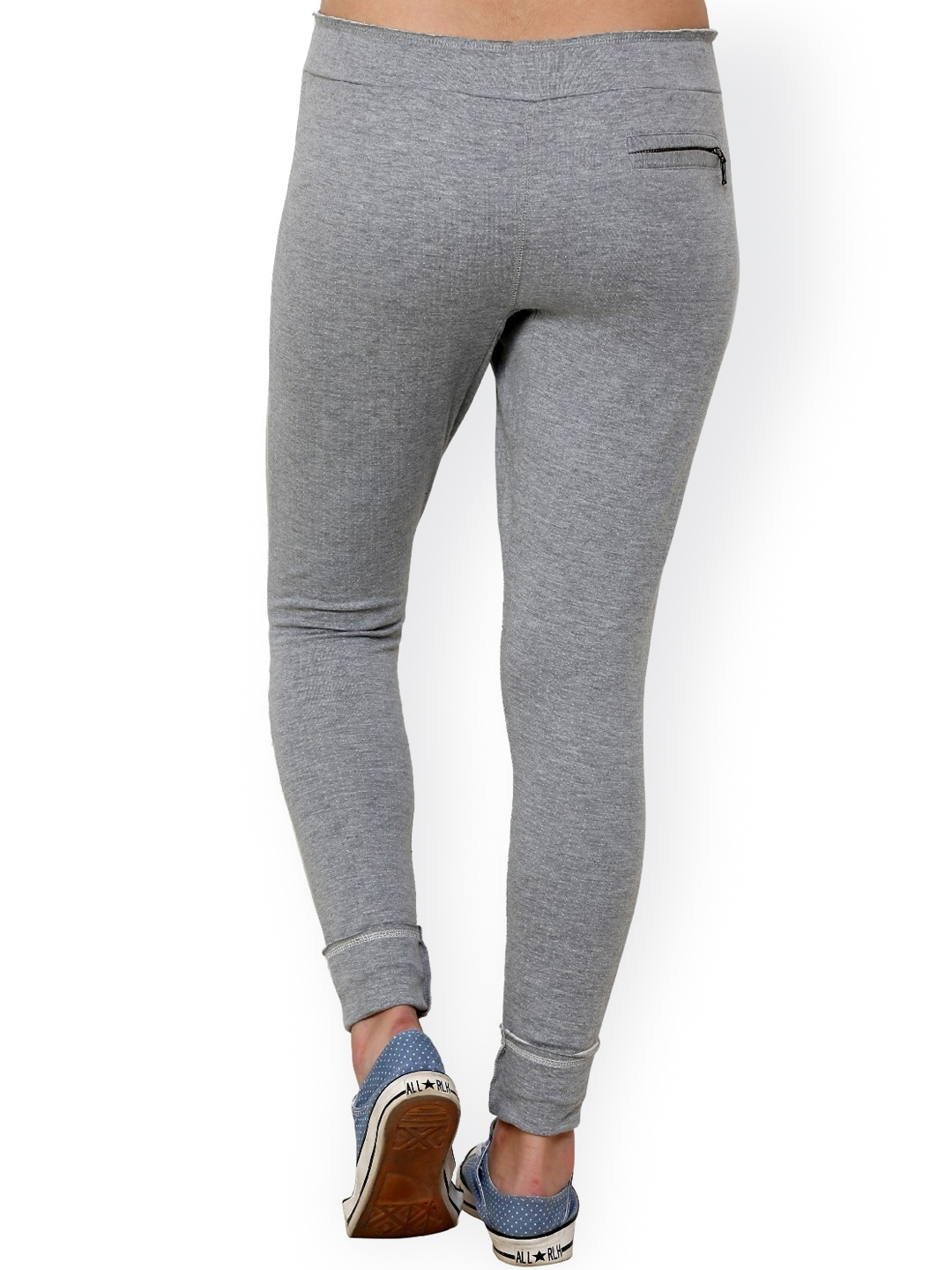 Luxury  Track Pants By Campus Sutra More Grey Track Pants More Track Pants