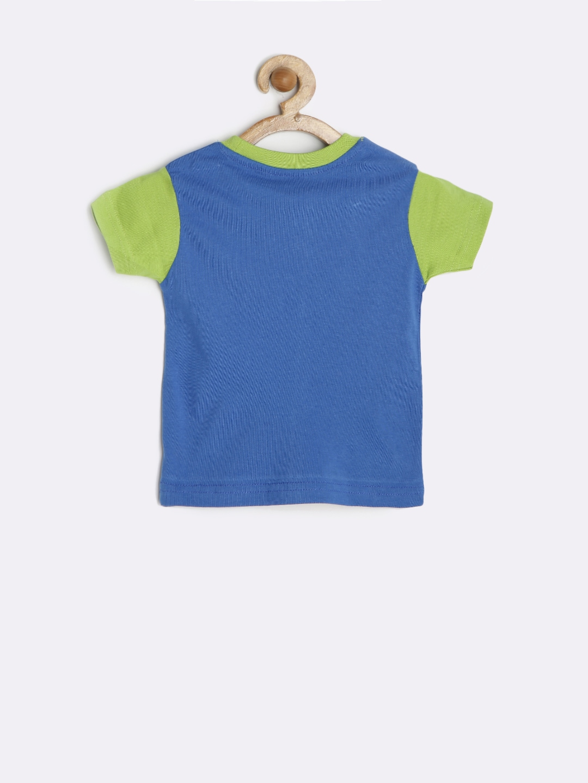 Myntra kid studio boys blue printed t shirt 782284 buy for Boys printed t shirts
