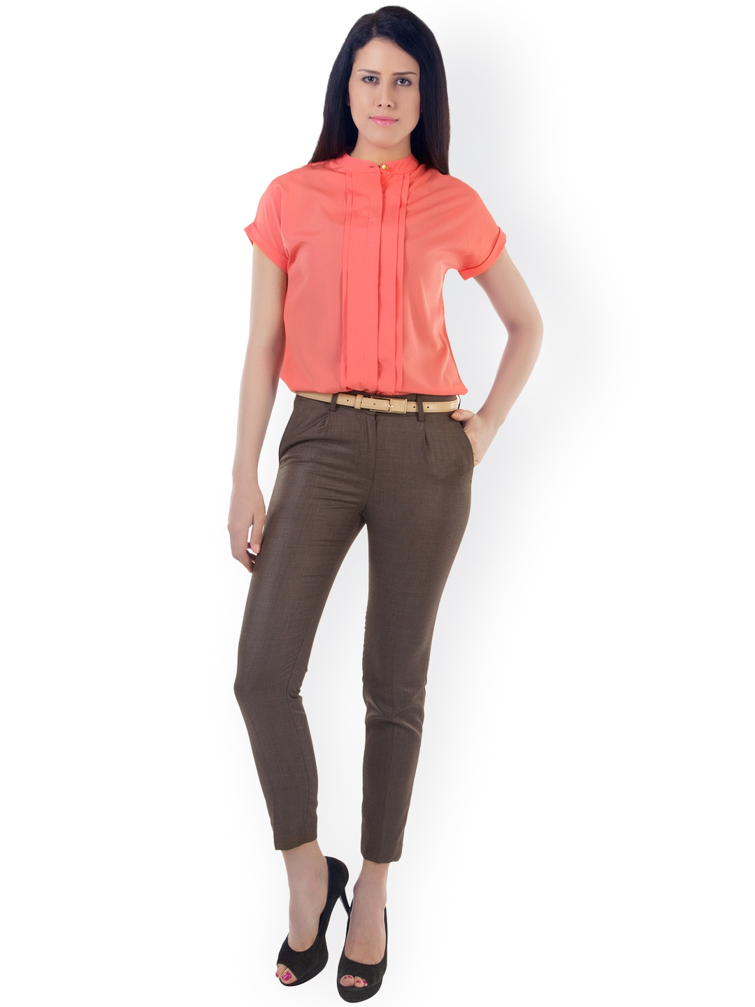 Find women's brown corduroy pants at ShopStyle. Shop the latest collection of women's brown corduroy pants from the most popular stores - all in one Husband Slim Leg Corduroy Trousers - Womens - Dark Brown $ Get a Sale Alert Free Ship + Free Returns at Nordstrom Elizabeth and DSQUARED2 cropped corduroy trousers $ Get a Sale Alert.