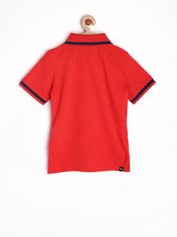 Myntra Puma Boys Red Polo T Shirt 786616 Buy Myntra Puma