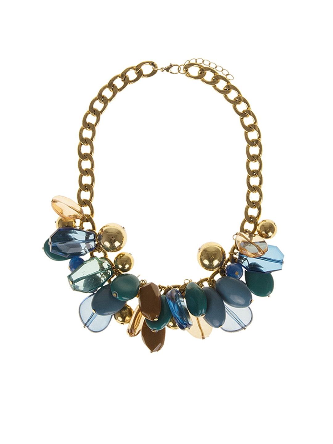 Myntra Parfois Gold Toned Matinee Necklace 790640 Buy