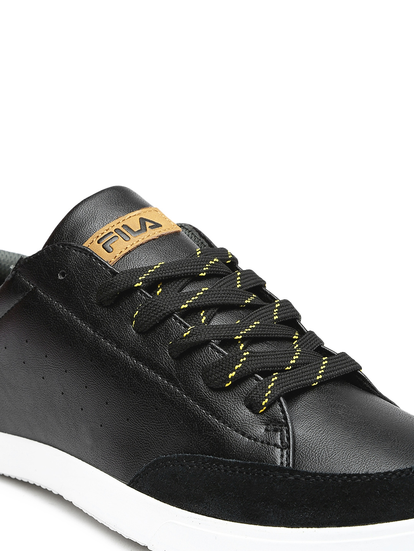 myntra fila black casual shoes 794234 buy myntra