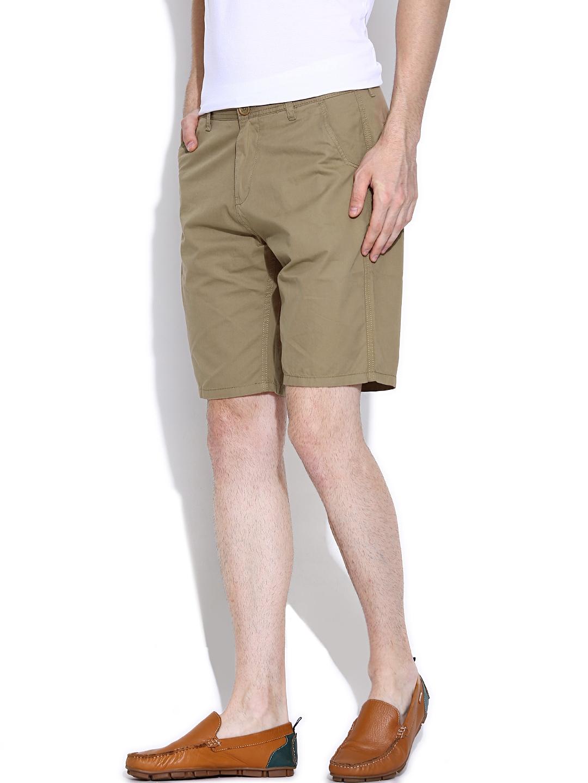 Myntra Pepe Jeans Khaki Shorts 801932