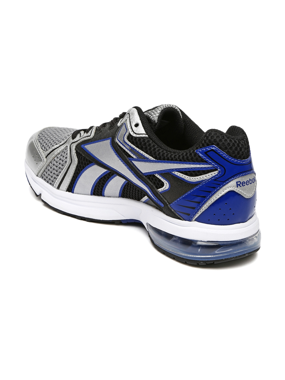 myntra reebok grey max ride running shoes 819740 buy