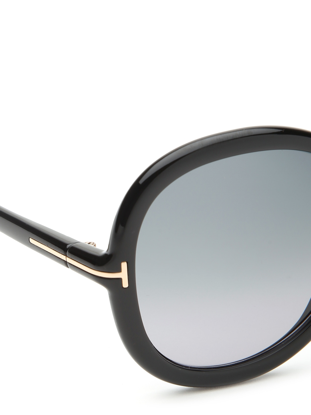 myntra tom ford oversized sunglasses tf0276 01b