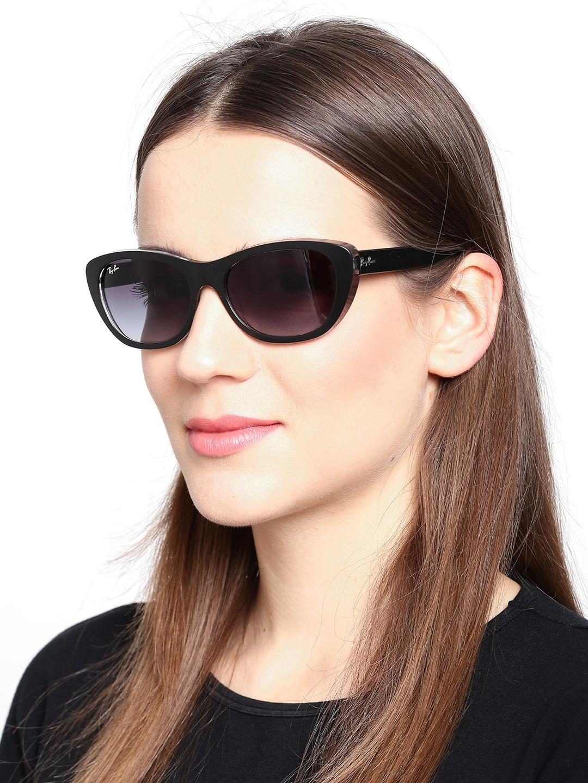 bd1b29a8b0 ray ban rb4125 cats sunglasses tortoise frame crystal brown grad - ray ban  cat 5000 sunglasses