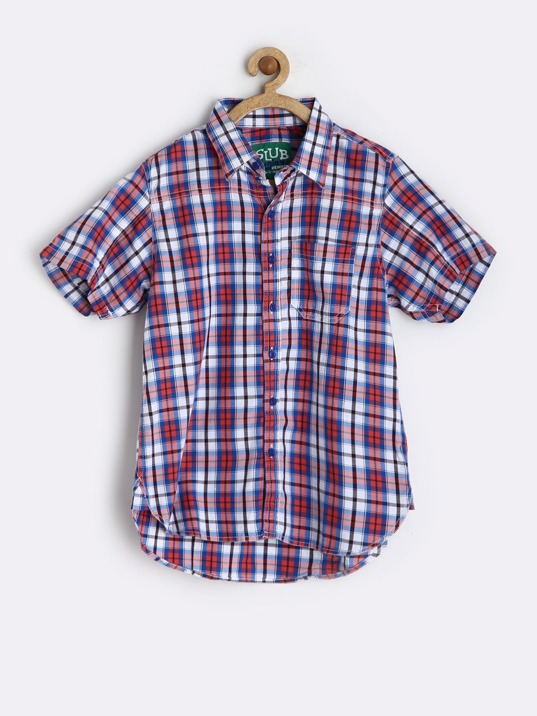 Boys' Shirts. This season our new collection of boys' shirts is so stylish, he'll love getting dressed. Adorned with cool checks and detailed prints, our shirts are crafted from the the finest cotton that's as easy to wear as it is to wash.