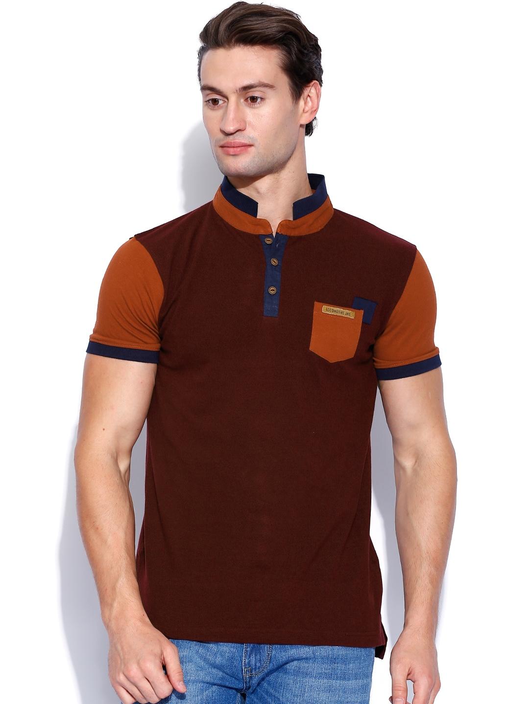 Home clothing men clothing tshirts locomotive tshirts Burgundy polo shirt boys