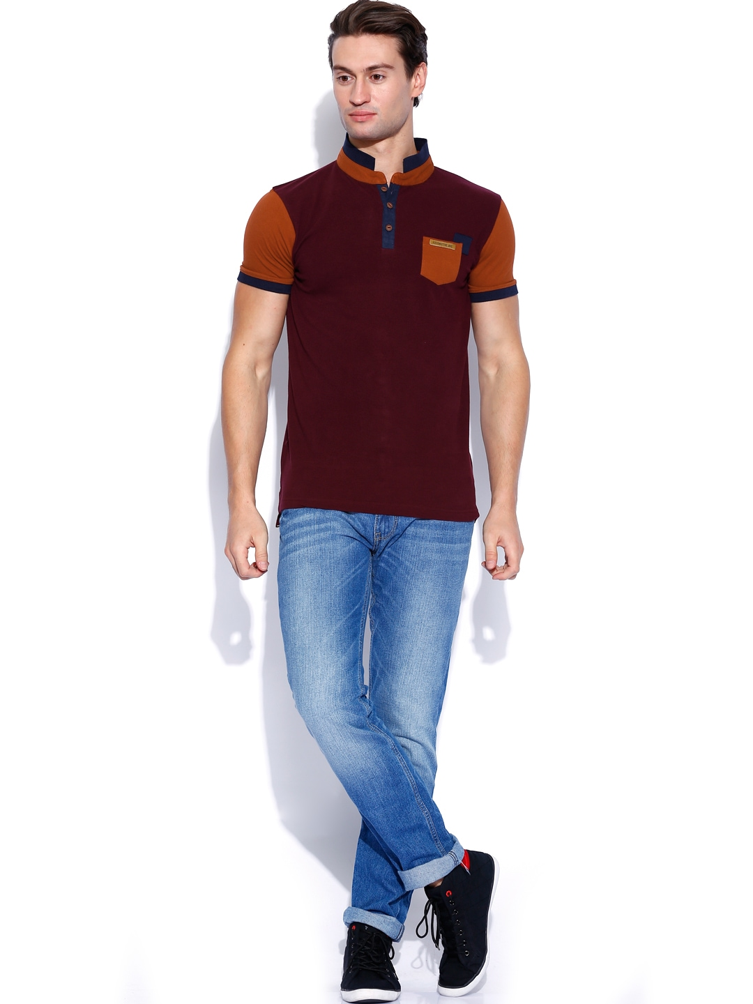 View Product Details More Tshirts By Locomotive More: burgundy polo shirt boys