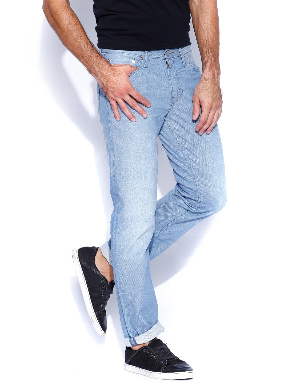 myntra levis light blue low rise slim fit jeans 511 840608. Black Bedroom Furniture Sets. Home Design Ideas