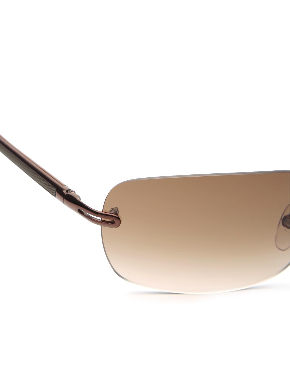 Rimless Rectangle Glasses : Myntra Ermenegildo Zegna Unisex Rimless Rectangle ...