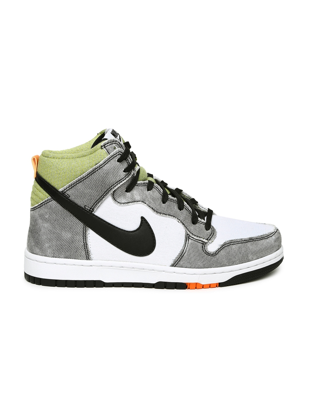 myntra nike white grey dunk cmft casual shoes 844634