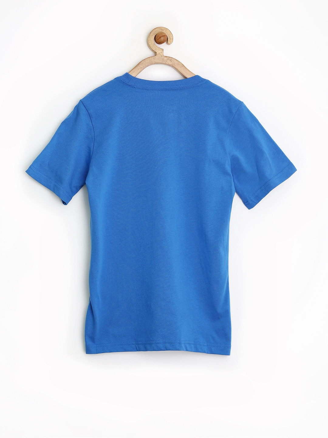 Myntra nike boys blue printed t shirt 848596 buy myntra for Shirts online shopping lowest price