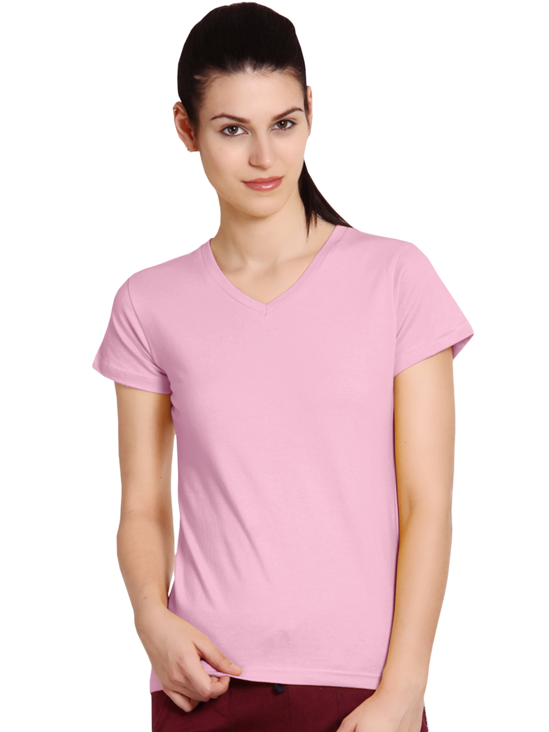 Myntra softwear pink t shirt 849851 buy myntra at best for Shirts online shopping lowest price