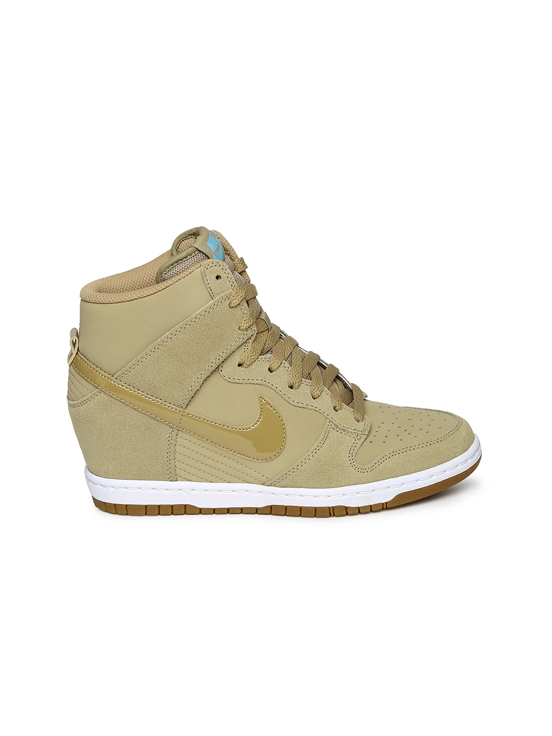myntra nike brown dunk sky essential leather casual