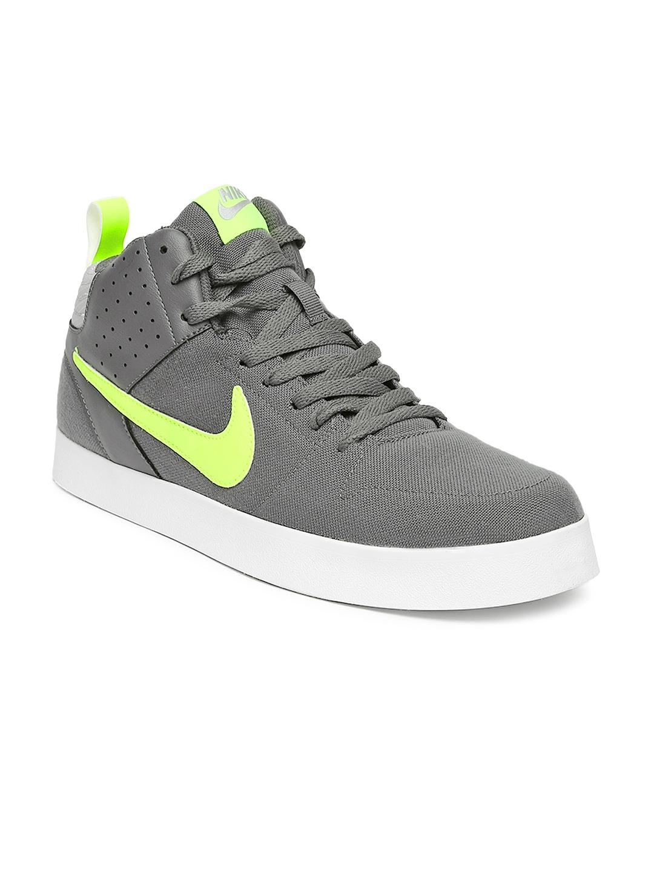 myntra nike grey liteforce iii casual shoes 857282