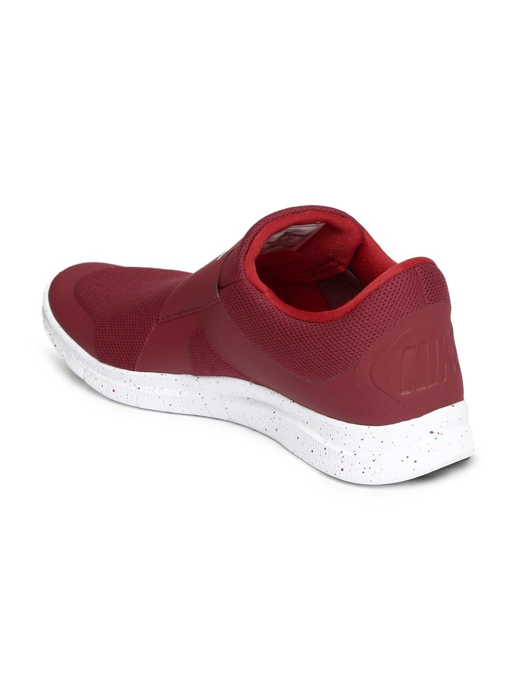 Active Running Shoes Men Maroon