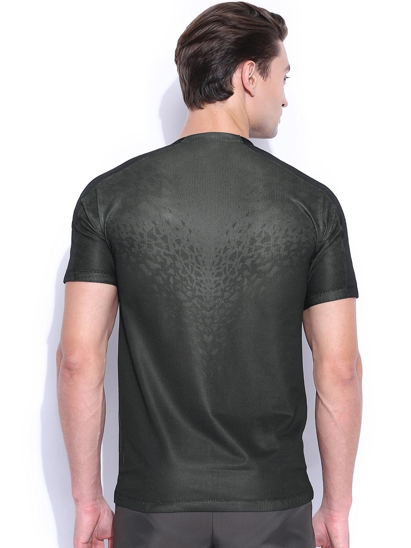 Myntra nike black training t shirt 857917 buy myntra for Nike t shirt price
