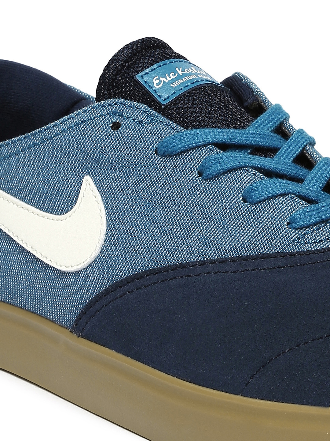Myntra Nike Men Blue Eric Koston 2 LR Skateboarding Shoes ...