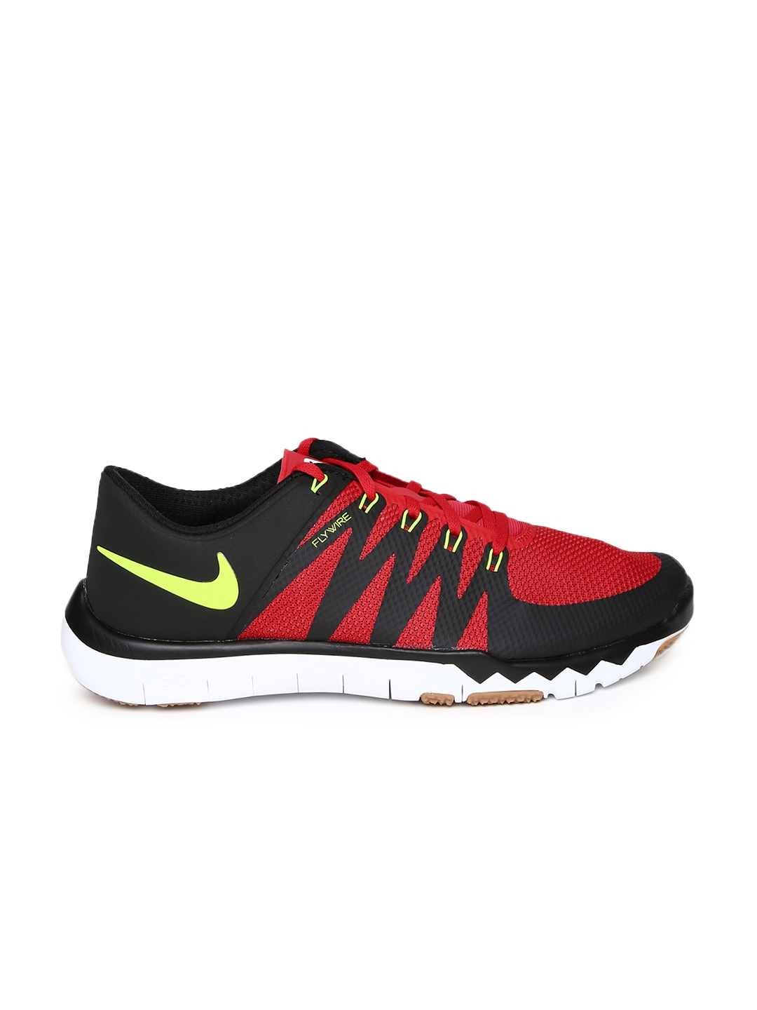 myntra nike black free 5 0 shoes 858305