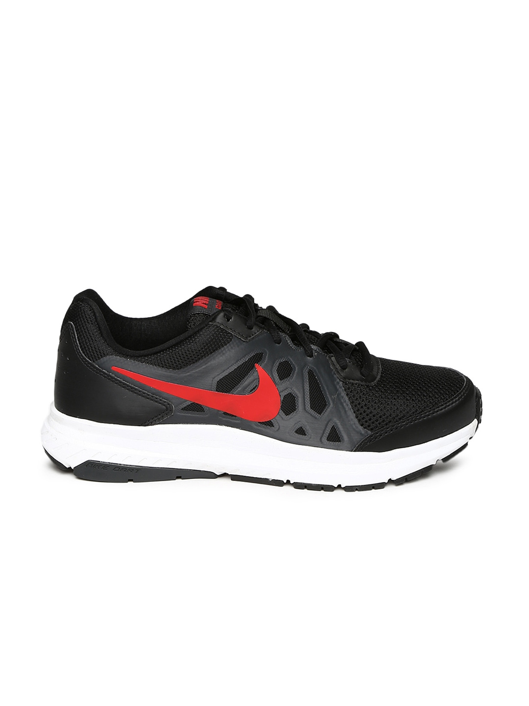 Myntra Nike Men Black Dart 11 Running Shoes 858312 | Buy