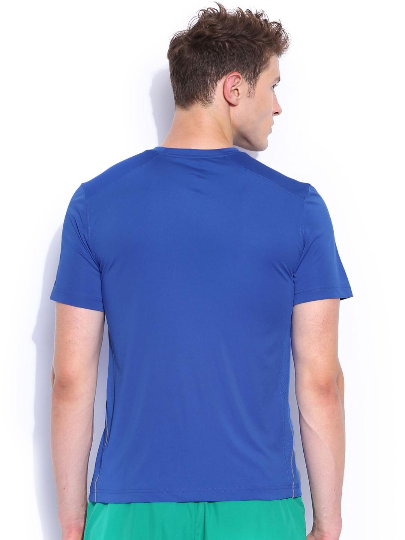 Myntra nike blue training t shirt 863262 buy myntra nike for Nike t shirt price
