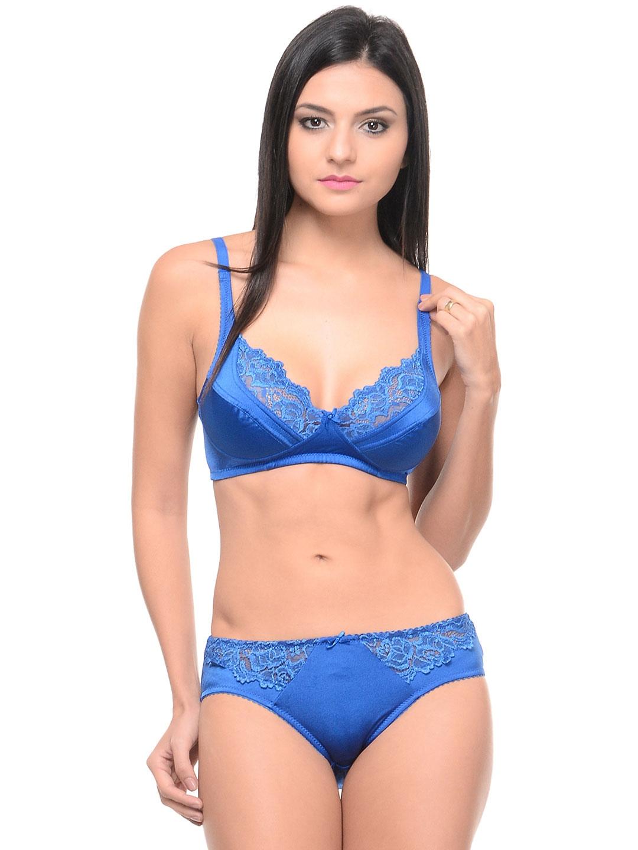 Myntra Bodycare Blue Lingerie Set 6409RBL 865060 | Buy ...