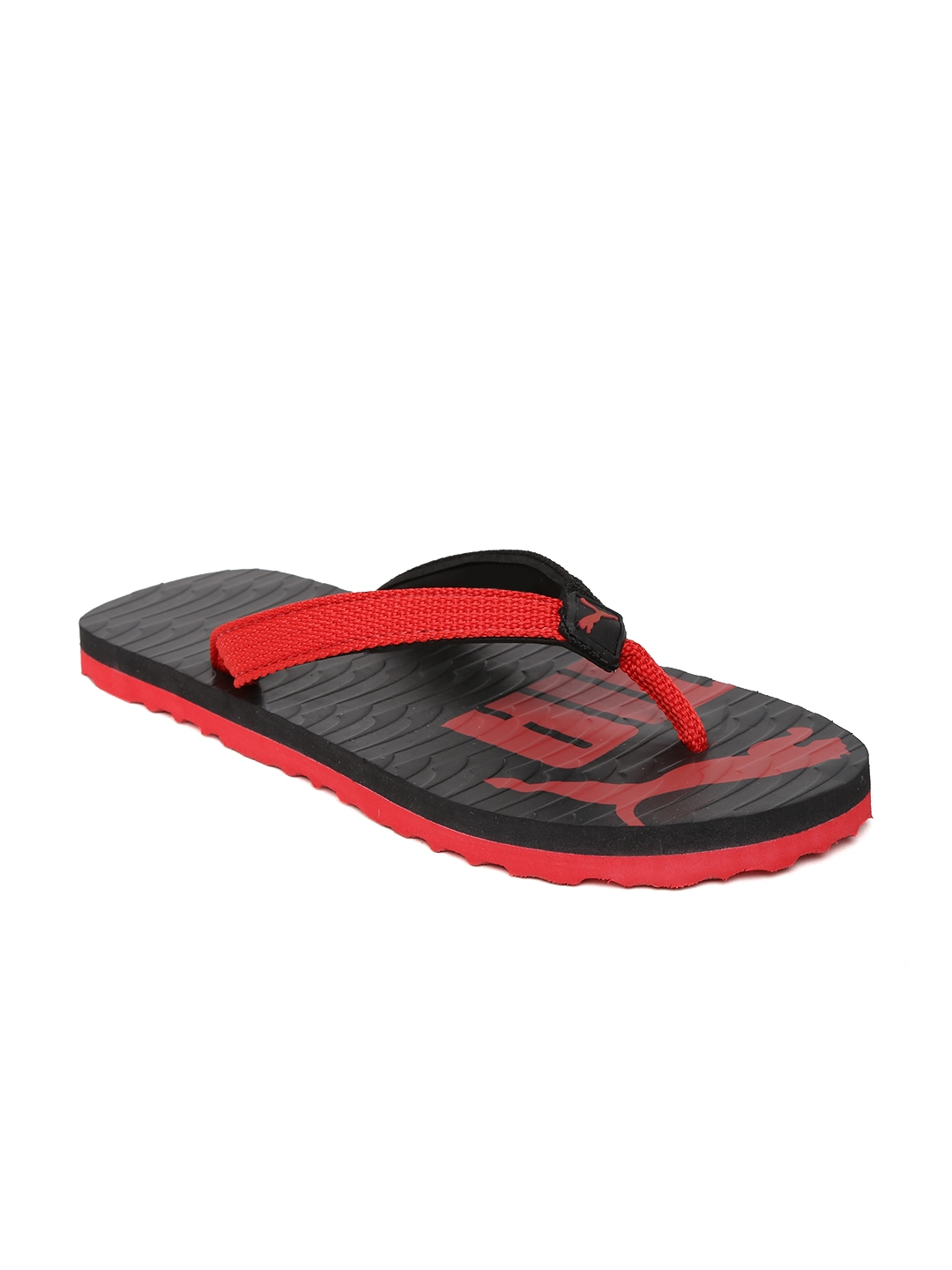 myntra puma unisex black red miami valueline ii dp flip flops 868137 buy myntra puma flip. Black Bedroom Furniture Sets. Home Design Ideas