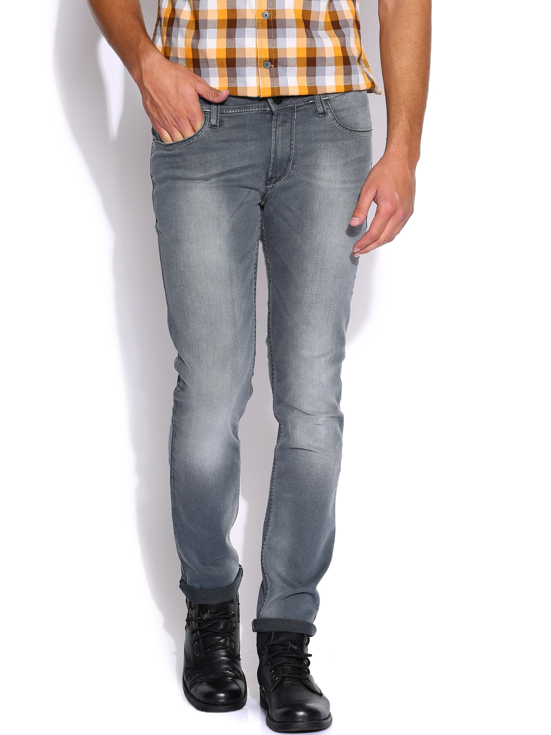 Myntra Lee Grey Low-Br...