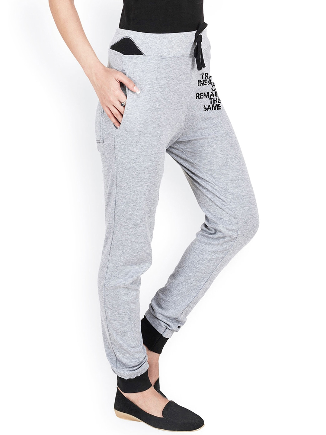 Fantastic Take Your Fitness Sessions To The Next Level By Wearing These Grey Track Pants For Women By Reebok Fashioned From 100% Cotton, These Regularfit Track Pants Will Keep You Cool And Sweat Free Team These Pants With A Tshirt And