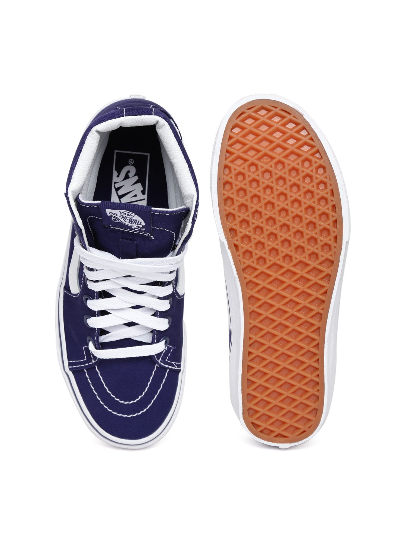 myntra vans unisex blue casual shoes 870215 buy myntra