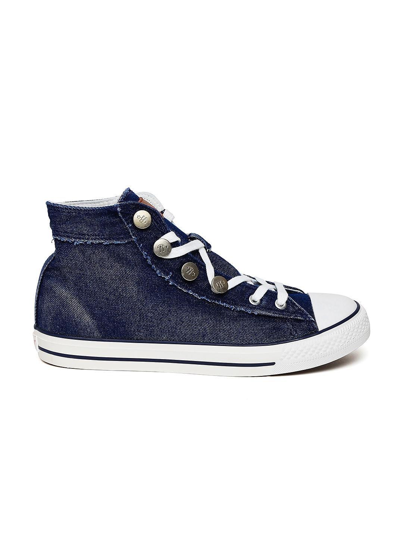 myntra roadster blue denim canvas shoes 870358 buy