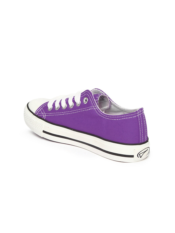 myntra boltio purple canvas shoes 875351 buy